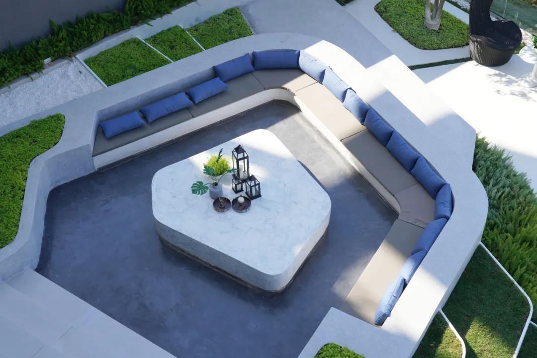 別墅板房花園-海上明月二