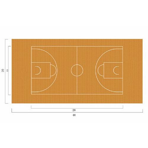 篮球场地胶3