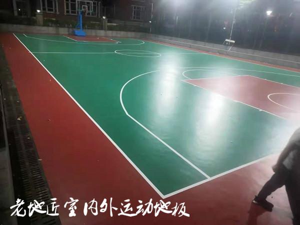 德馨苑室外篮球场