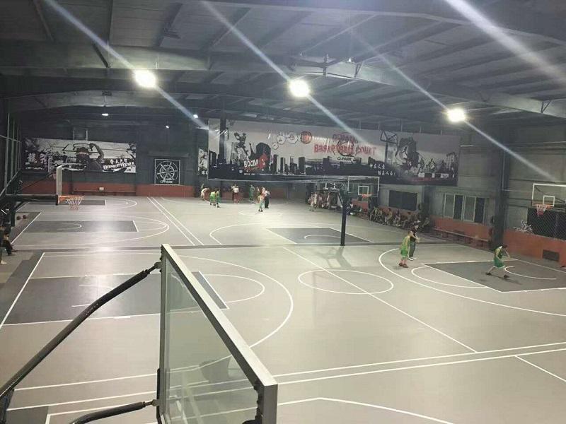 广州某创意篮球馆