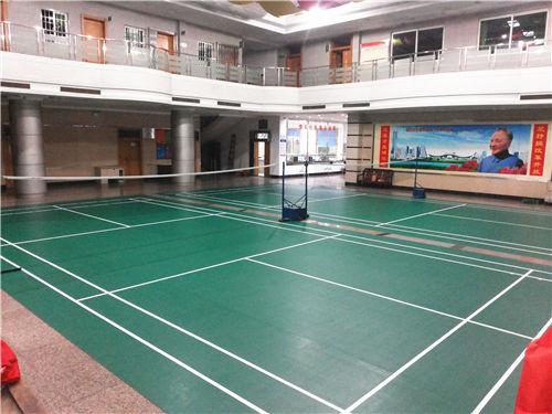楼岗居委会羽毛球馆