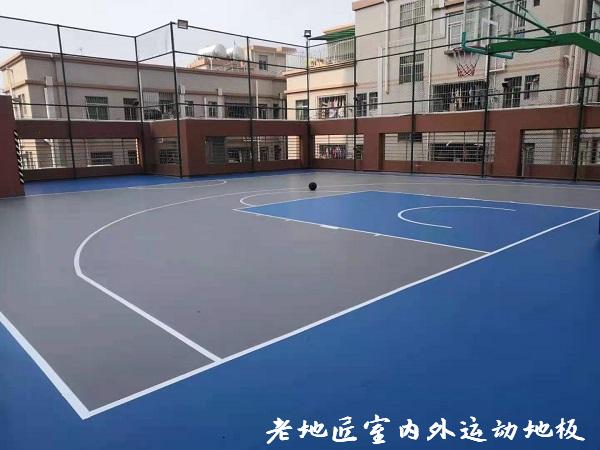 民乐大厦楼顶篮球场